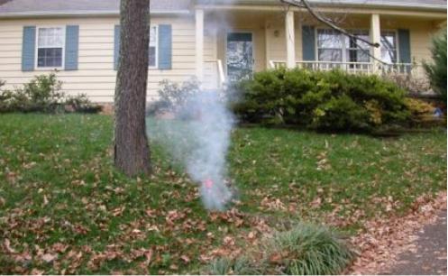 Sewer Line Smoke Testing